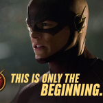 CW The Flash Twitter Image