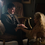 "GOTHAM: Oswald Cobblepot (Robin Lord Taylor, L) returns home to his mother (guest star Carol Kane, R) in the ""Spirit of The Goat"" episode of GOTHAM airing Monday, Oct. 27 (8:00-9:00 PM ET/PT) on FOX. ©2014 Fox Broadcasting Co. Cr: Jessica Miglio/FOX"