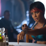 "GOTHAM: Fish Mooney (Jada Pinkett Smith) negotiates with Sal Maroni in the ""Penguin's Umbrella"" episode of GOTHAM airing Monday, Nov. 3 (8:00-9:00 PM ET/PT) on FOX. ©2014 Fox Broadcasting Co. Cr: Jessica Miglio/FOX"