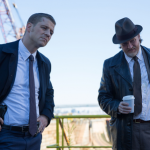"GOTHAM: Detectives James Gordon (Ben McKenzie, L) and Harvey Bullock (Donal Logue, R) examine a crime scene in the ""The Mask"" episode of GOTHAM airing Monday, Nov. 10 (8:00-9:00 PM ET/PT) on FOX. ©2014 Fox Broadcasting Co. Cr: Jessica Miglio/FOX"