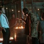"CONSTANTINE -- ""Danse Vaudou"" Episode 106 -- Pictured: (l-r) Matt Ryan as John Constantine, Michael James Shaw as Papa Midnite -- (Photo by: Tina Rowden/NBC)"