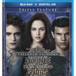 Twilight, New Moon, & Eclipse Extended Editions Coming to DVD/Blu-ray in January 2015!