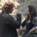 VIDEO: Outlander's Caitriona Balfe, Sam Heughan, & Tobias Menzies Play 'This or That' #OutlanderOfferings