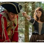 PHOTO: Claire Faces Off with a Redcoat in New Image from #Outlander Season 1B!