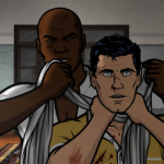 "ARCHER: Episode 2, Season 6 ""Three to Tango"" (Airing Thursday, January 15, 10:00 PM e/p) An agent from the past has a hand creating tension between Archer and Lana. Pictured: (L-R) Conway Stern (voice of Coby Bell), Sterling Archer (voice of H. Jon Benjamin). CR: FX"