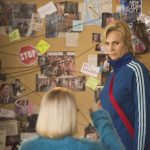 "GLEE: Becky (Lauren Potter, L) and Sue (Jane Lynch, R) plan against the Glee club in the ""The Hurt Locker, Part Two"" episode of GLEE airing Friday, Jan. 30 (9:00-10:00 PM ET/PT) on FOX. ©2014 Fox Broadcasting Co. CR: Adam Rose/FOX"