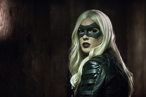 "Arrow -- ""Midnight City"" -- Image AR311A_0290b -- Pictured: Katie Cassidy as Black Canary -- Photo: Cate Cameron/The CW -- �© 2015 The CW Network, LLC. All Rights Reserved."