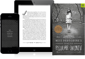 Miss Peregrine's Home for Peculiar Children by Ransom Riggs. Image of Book Types Image from Quirk Books