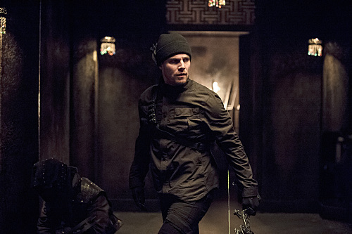 "Arrow -- ""Nanda Parbat"" -- Image AR315B_0419b -- Pictured: Stephen Amell as Oliver Queen -- Photo: Cate Cameron/The CW -- �© 2015 The CW Network, LLC. All Rights Reserved."