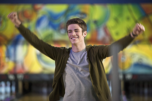 """The Flash -- """"Out of Time"""" -- Image FLA115A_0255b -- Pictured: Grant Gustin as Barry Allen -- Photo: Diyah Pera/The CW -- �© 2015 The CW Network, LLC. All rights reserved."""