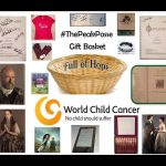 ThePeakPosse Gift Basket in support of World Child Cancer, Caitriona Balfe's supported charity.