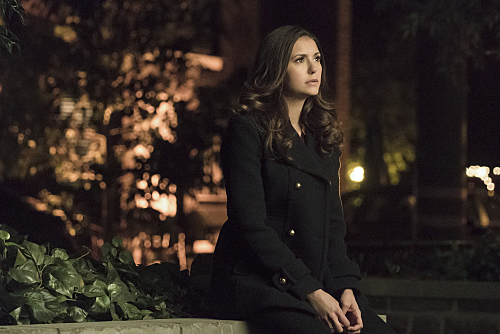"""The Vampire Diaries -- """"I Never Could Love Like That"""" -- Image Number: VD618a_0110.jpg -- Pictured: Nina Dobrev as Elena -- Photo: Tina Rowden/The CW -- �© 2015 The CW Network, LLC. All rights reserved."""