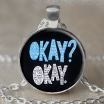 OwlCrate 4EverAlwaysDesigns Okay Okay Pendant