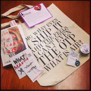 OwlCrate April 2015 Subscription Box Items