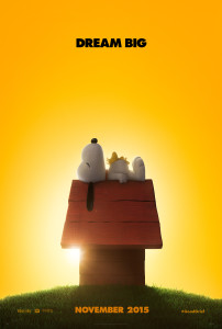 Peanuts Movie in theaters November 6, 2015