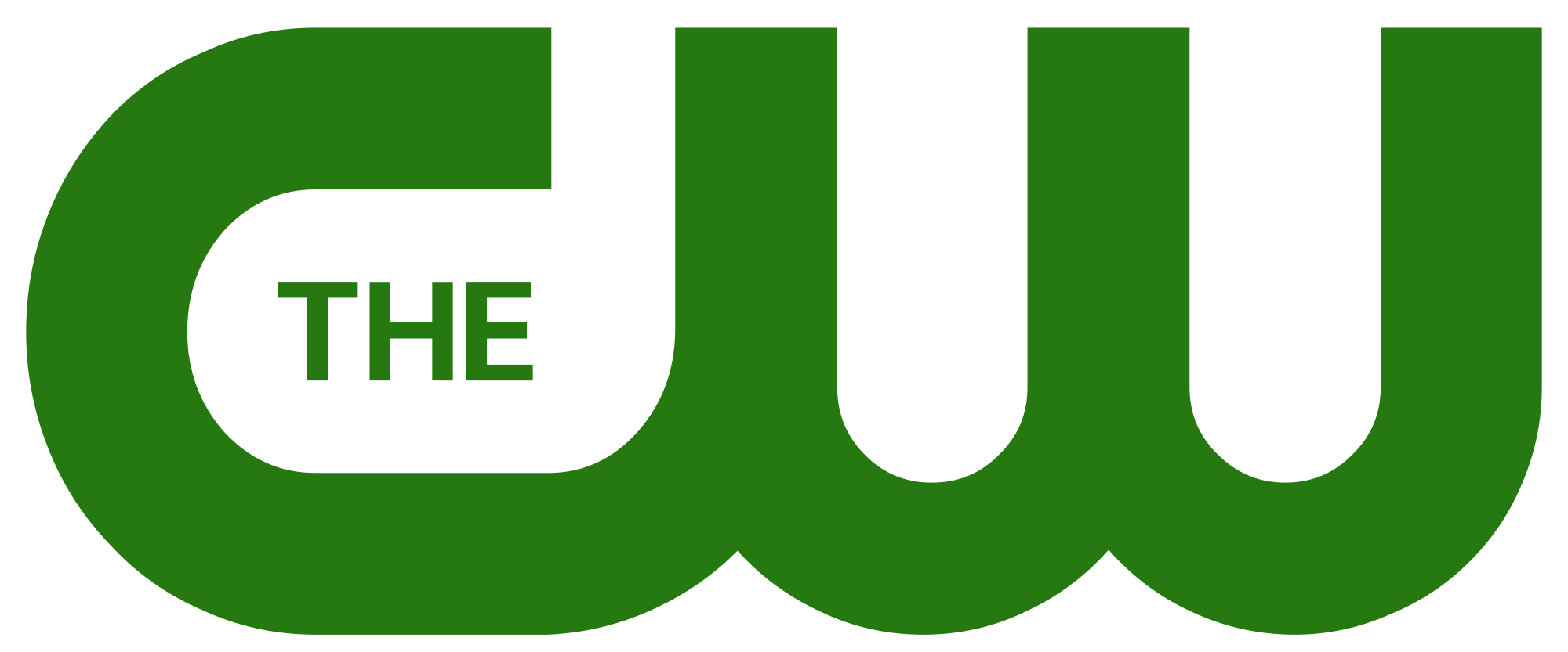 The CW TV Network Logo