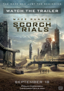 Maze Runner: The Scorch Trails Poster