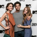 TEEN WOLF cast members Shelley Hennig, Tyler Posey, Holland Roden at ATX 2015. Credit: MTV/Viacom