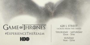 Game of Thrones Experience The Realm Information Graphic for SDCC 2015