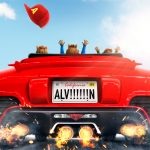ALVIN AND THE CHIPMUNKS: THE ROAD CHIP poster; Courtesy of 20th Century Fox and New Regency.