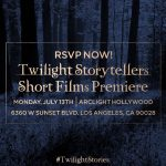 'Twilight Stories' Short Films to Premiere on July 13 in Los Angeles