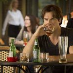 "The Vampire Diaries -- ""Day One of Twenty-Two Thousand, Give or Take"" -- Image Number: VD701a_0269.jpg -- Pictured: Ian Somerhalder as Damon -- Photo: Bob Mahoney/The CW -- © 2015 The CW Network, LLC. All rights reserved."