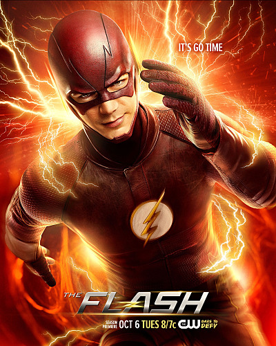 The Flash -- Image Number: FLA02_KeyArt.jpg -- Pictured: Grant Gustin as Barry Allen/The Flash -- Photo: Nino Munoz/The CW -- �© 2015 The CW Network, LLC. All rights reserved.