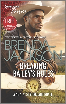 """Breaking Bailey's Rules"" by Brenda Jackson Book Cover Image"