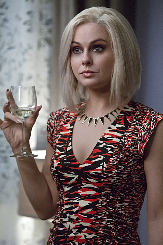 "iZombie -- ""Real Dead Housewife of Seattle"" -- Image Number: ZMB_203a_4140.jpg -- Pictured: Rose McIver as Olivia ""Liv"" Moore -- Photo: Jack Rowand /The CW -- �© 2015 The CW Network, LLC. All rights reserved. Photo: Jack Rowand /The CW -- �© 2015"