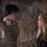 "The 100 -- ""Blood Must Have Blood, Part Two"" -- Image HU216B_0253 -- Pictured (L-R): Bob Morley as Bellamy and Eliza Taylor as Clarke -- Credit: Cate Cameron/The CW -- © 2015 The CW Network, LLC. All Rights Reserved"