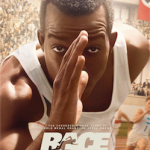 "Official film poster for film ""Race""; Courtesy of Focus Features"