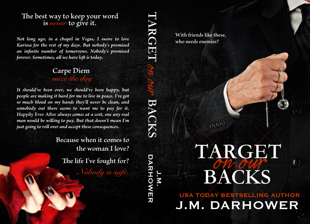 COVER REVEAL: 'Target on Our Backs' by J.M. Darhower