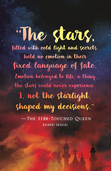 BOOK REVIEW: 'The Star-Touched Queen' by Roshani Chokshi
