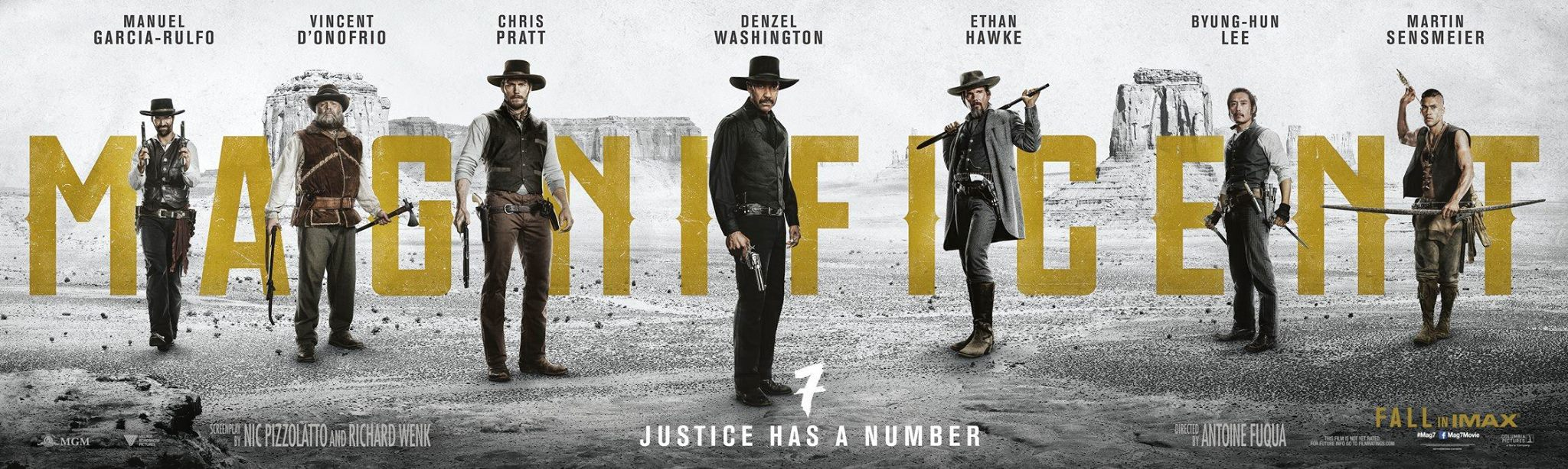 Image Source: The Magnificent Seven Official Facebook