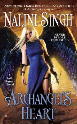 COVER REVEAL: 'Archangel's Heart' by Nalini Singh