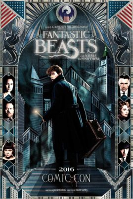 'Fantastic Beasts and Where to Find Them' Brings Magic to Comic Con