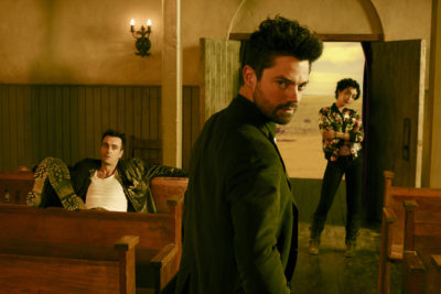 The Cast of 'Preacher' Answers Questions at SDCC Press Panel