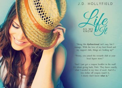 COVER REVEAL: 'Life As We Know It' by J.D. Hollyfield