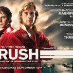 Movie Poster for RUSH, a film by Ron Howard; Courtesy of Universal Pictures