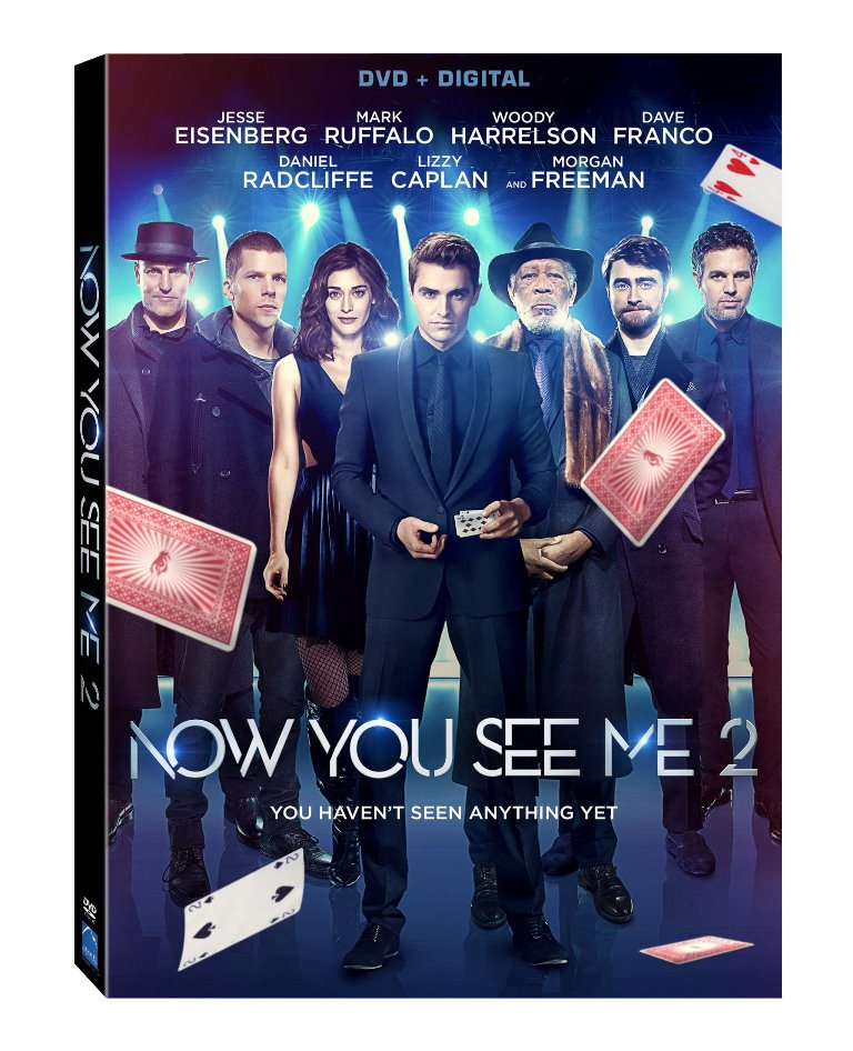 39 now you see me 2 39 coming to digital hd in august blu ray dvd in september we so nerdy. Black Bedroom Furniture Sets. Home Design Ideas