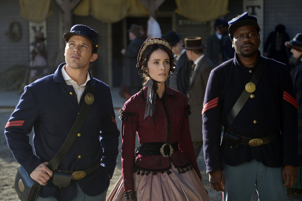 "PREVIEW: 'Timeless' Season 1, Episode 2 ""The Assassination of Abraham Lincoln"""