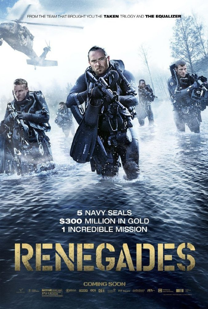 FIRST LOOK: Renegades, Starring Sullivan Stapleton