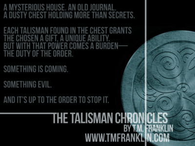 COVER REVEAL: 'The Talisman Chronicles' by T.M. Franklin