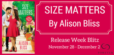 SPOTLIGHT: 'Size Matters' by Alison Bliss