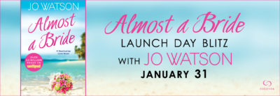 SPOTLIGHT/GIVEAWAY: 'Almost a Bride' by Jo Watson