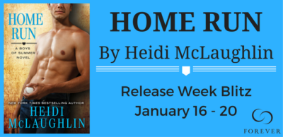 SPOTLIGHT/GIVEAWAY: 'Home Run' by Heidi McLaughlin