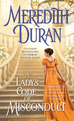 SPOTLIGHT/REVIEW: 'A Lady's Code of Misconduct' by Meredith Duran