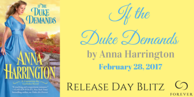 SPOTLIGHT: 'If The Duke Demands' by Anna Harrington