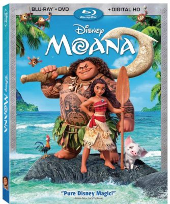 Disney's 'Moana' as it Sails Onto Digital HD & Blu-Ray!