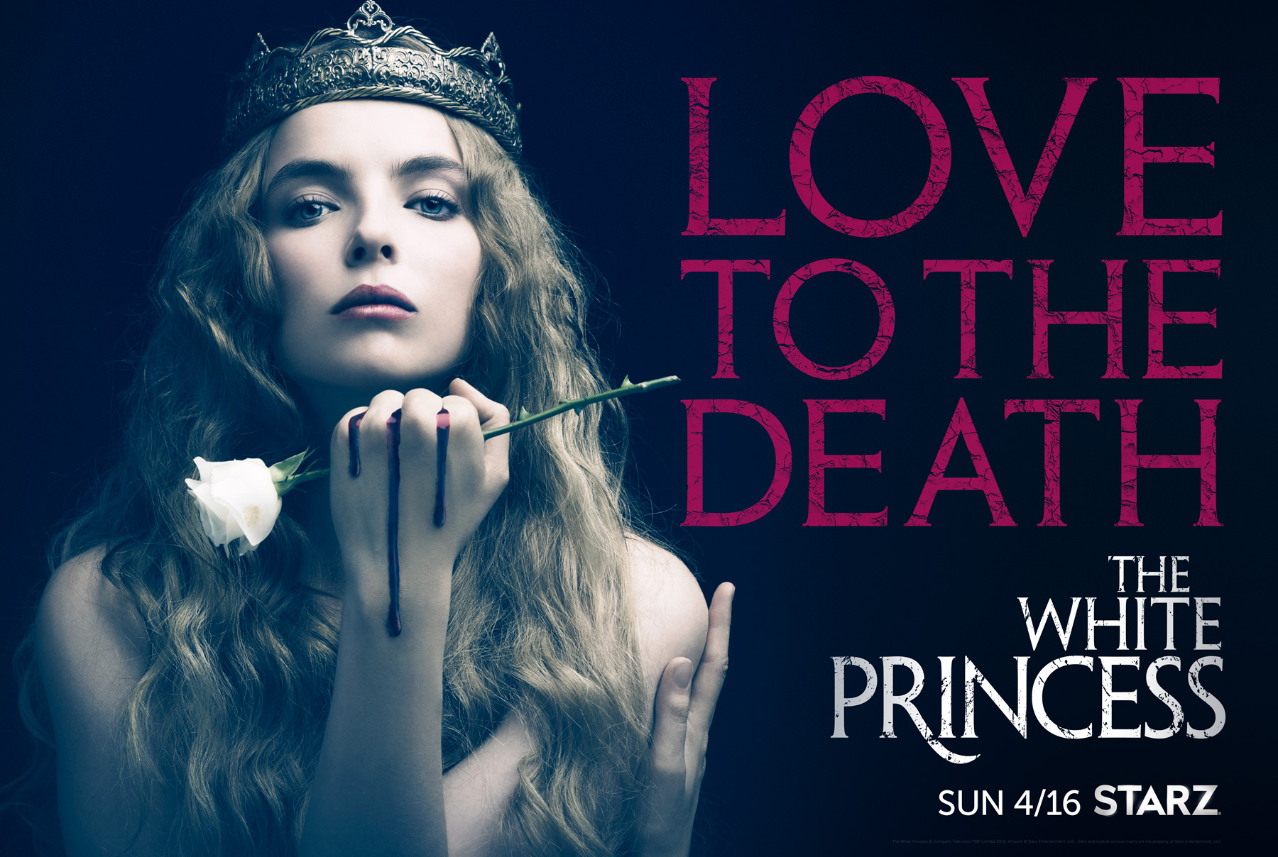 FIRST LOOK: STARZ Original Limited Series 'The White Princess' Debuts in April